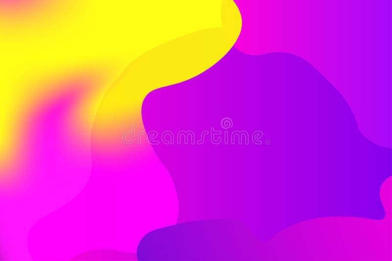 Abstrakcjonistyczny kolorowy narzuta wektoru tło obraz stock