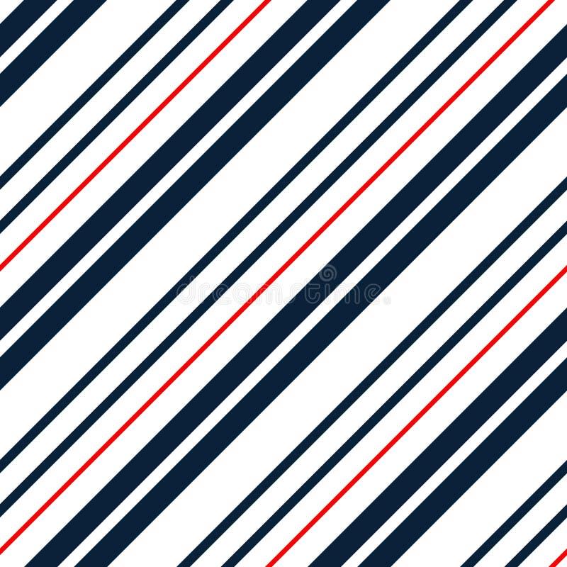 Abstrakcjonistyczny kolorowy pasiasty wzór dla druk tkaniny, opakowanie, tapeta tła bezszwowy geometryczny royalty ilustracja