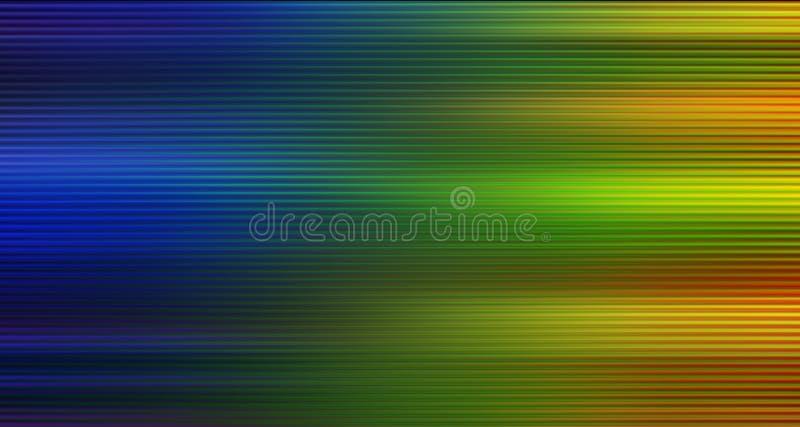 Abstrakcjonistyczny kolorowy post wykłada tło ilustracji