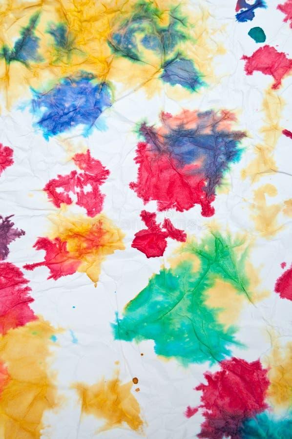 abstrakcjonistyczny kolorowy rysunek fotografia royalty free