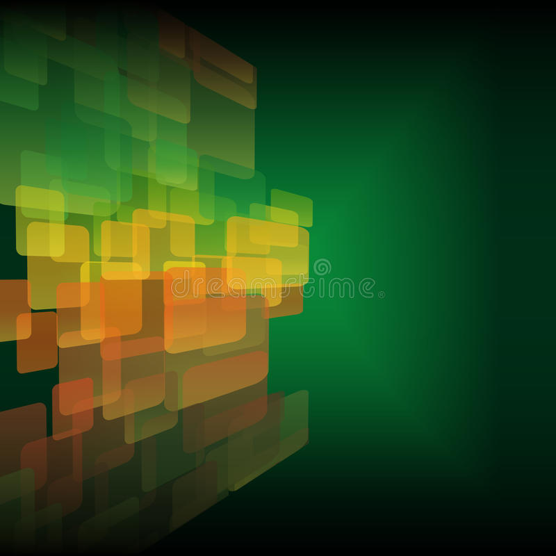 Abstrakcjonistyczny kolorowy tło. ilustracja wektor