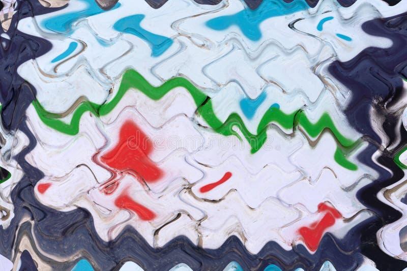 Abstrakcjonistyczny kolorowy tło, tapeta, tekstura mieszania farb nowoczesna sztuka kiedy było tła może pouczać tekstury marmurem fotografia royalty free
