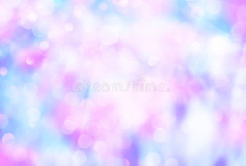 Abstrakcjonistyczny kolorowy zamazany t?o z bokeh zdjęcie stock