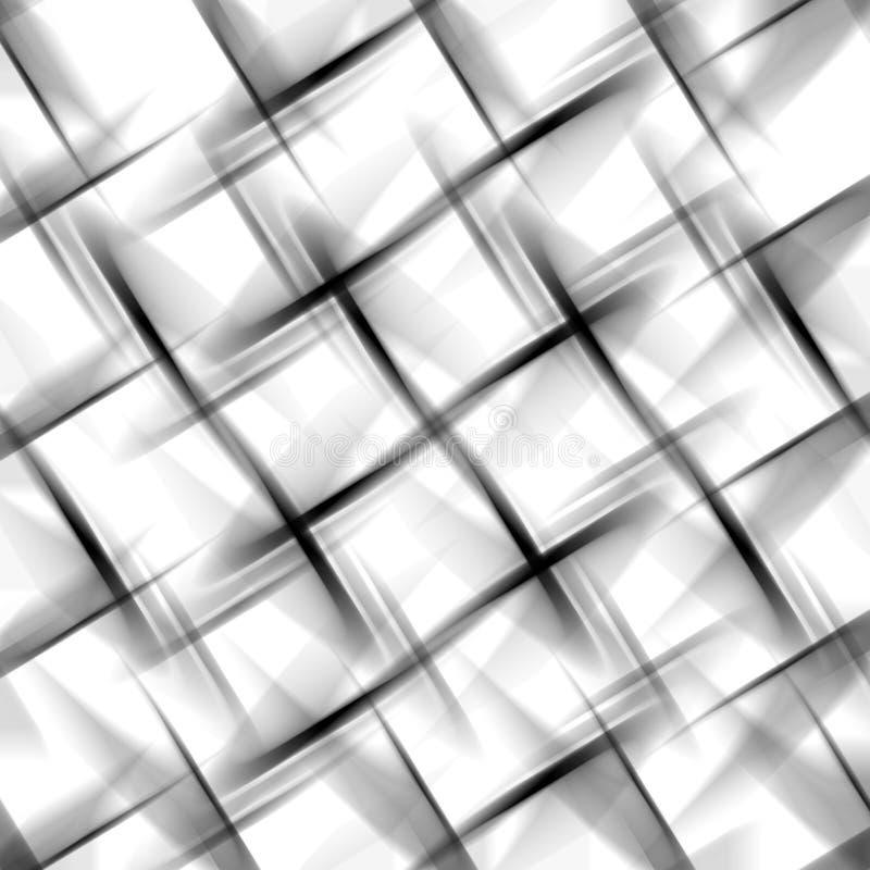 abstrakcjonistyczny koszykowy wyplata ilustracja wektor