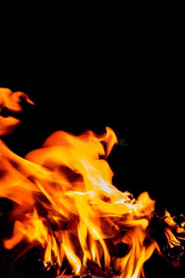 Abstrakcjonistyczny kształt ogień obraz royalty free