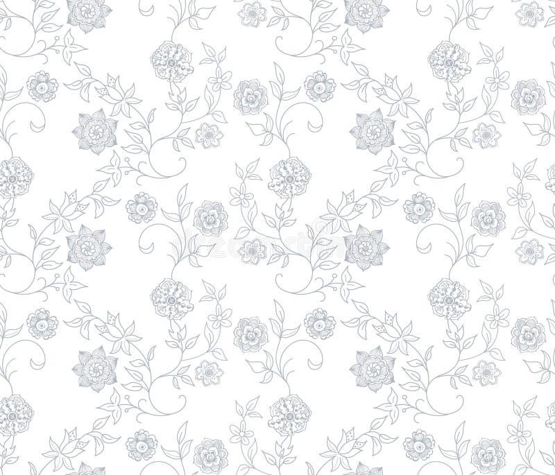 Download Abstrakcjonistyczny Kwiecisty Deseniowy Bezszwowy Ilustracja Wektor - Ilustracja złożonej z wally, ilustracje: 13336781