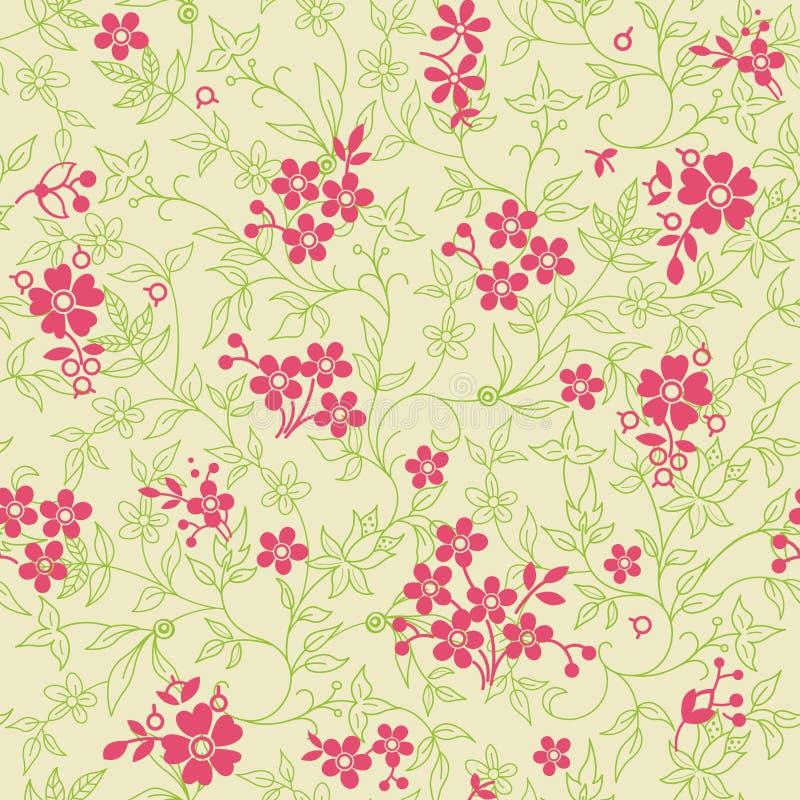 Download Abstrakcjonistyczny Kwiecisty Wzór Ilustracja Wektor - Ilustracja złożonej z tło, ilustracje: 13336775