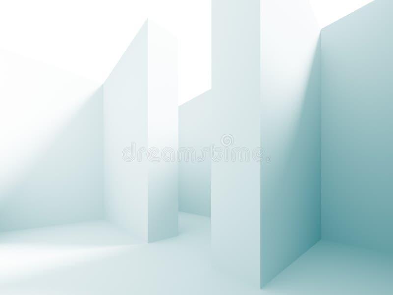 Abstrakcjonistyczny labiryntu tło royalty ilustracja