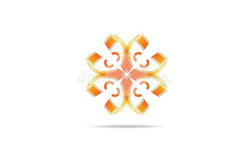Abstrakcjonistyczny logo ikon projekta wektor - Kreatywnie Firmy loga szablon ilustracji