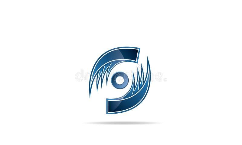 Abstrakcjonistyczny logo ikon projekta wektor - Kreatywnie Firmy loga szablon royalty ilustracja