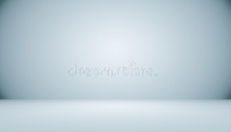Abstrakcjonistyczny luksusowy czarny gradient z rabatowym winiety tłem S ilustracja wektor