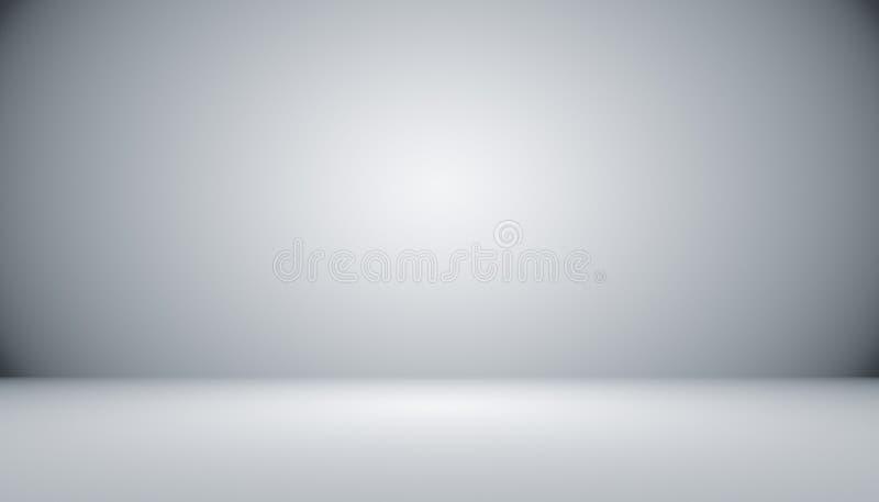 Abstrakcjonistyczny luksusowy czarny gradient z rabatowym winiety tłem S ilustracji