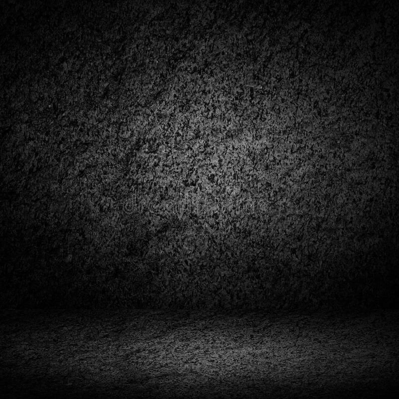 Abstrakcjonistyczny luksusowy czerń cement z rabatowym czarnym winiety backgrou ilustracja wektor
