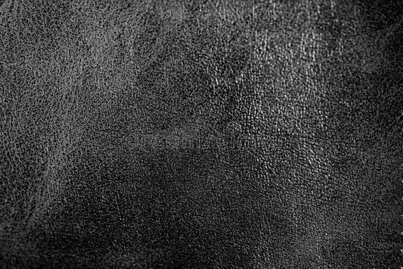 Abstrakcjonistyczny luksusowy rzemienny zmrok - szara tekstura dla tła obrazy stock