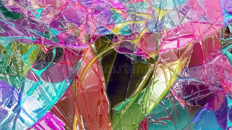 Abstrakcjonistyczny materiał shinny nawierzchniowego tekstura wzoru pojęcia projekta grafiki stylu cyfrowego ilustracyjnego tło ilustracji