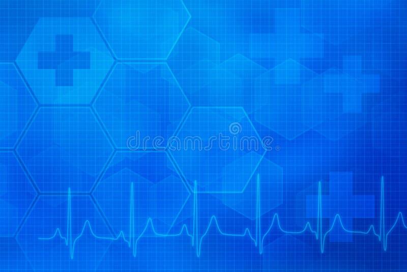 Abstrakcjonistyczny medyczny tło zdjęcia stock
