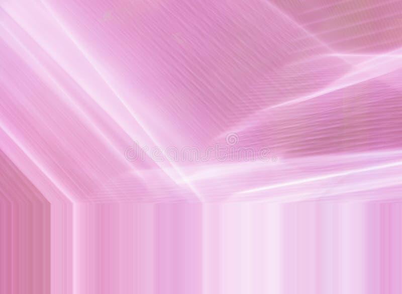 Abstrakcjonistyczny miękkich części menchii tło z siecią jaskrawe linie zdjęcia stock