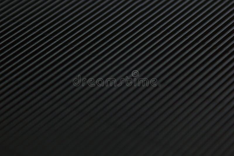 Abstrakcjonistyczny minimalistic czarny pasiasty tło z przekątna chodnikowem i liniami fotografia stock