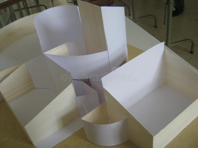 abstrakcjonistyczny model zdjęcie royalty free