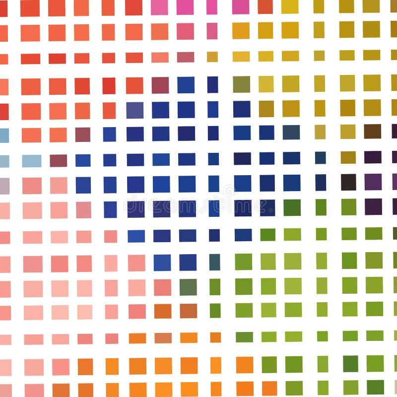 Download Abstrakcjonistyczny Multicolor Bezszwowy Wzór Ilustracja Wektor - Ilustracja złożonej z błękitny, wally: 57654812