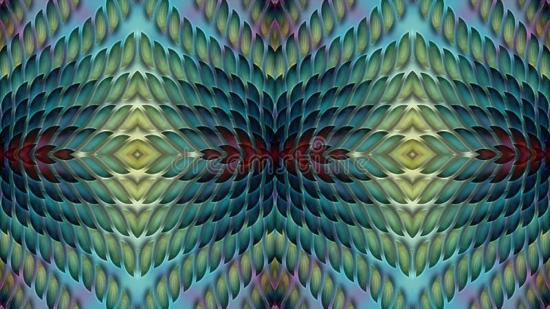 Abstrakcjonistyczny multicolor tło dla projekta tkaniny p royalty ilustracja