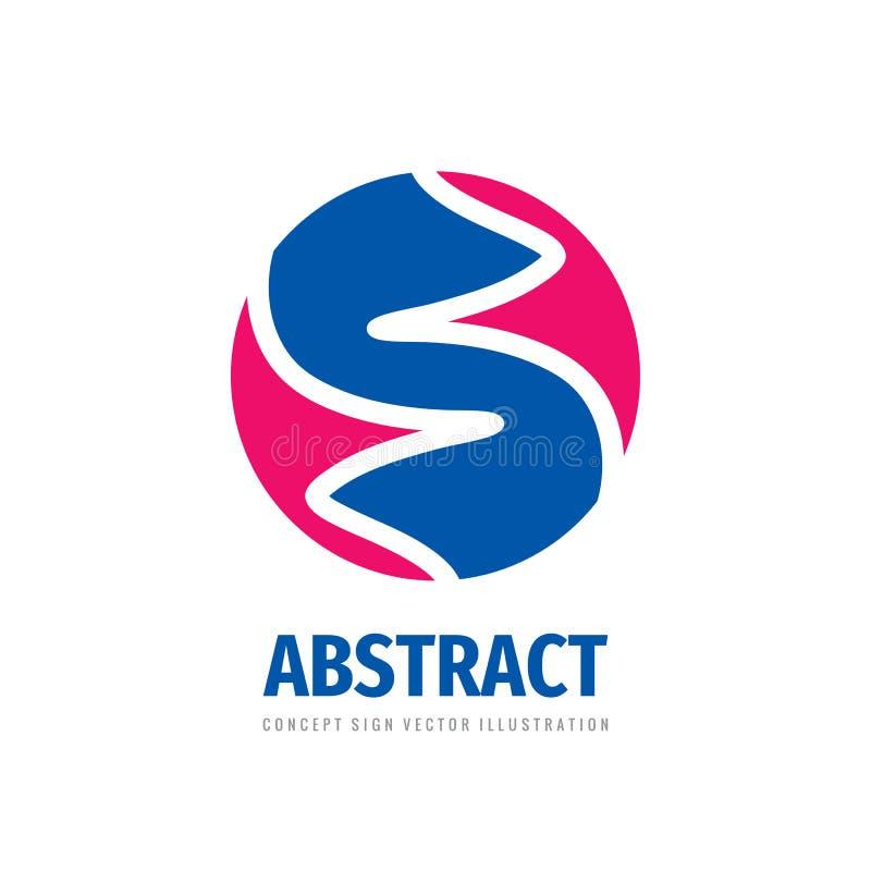 Abstrakcjonistyczny niezwykły biznesowy logo projekt Dynamiczna struktura w okręgu Poj?cie znak 10 t?o projekta eps techniki wekt ilustracji