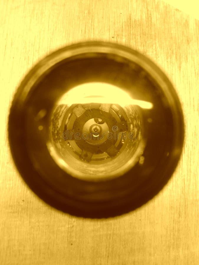 Abstrakcjonistyczny obiektywu czujnik zdjęcie stock