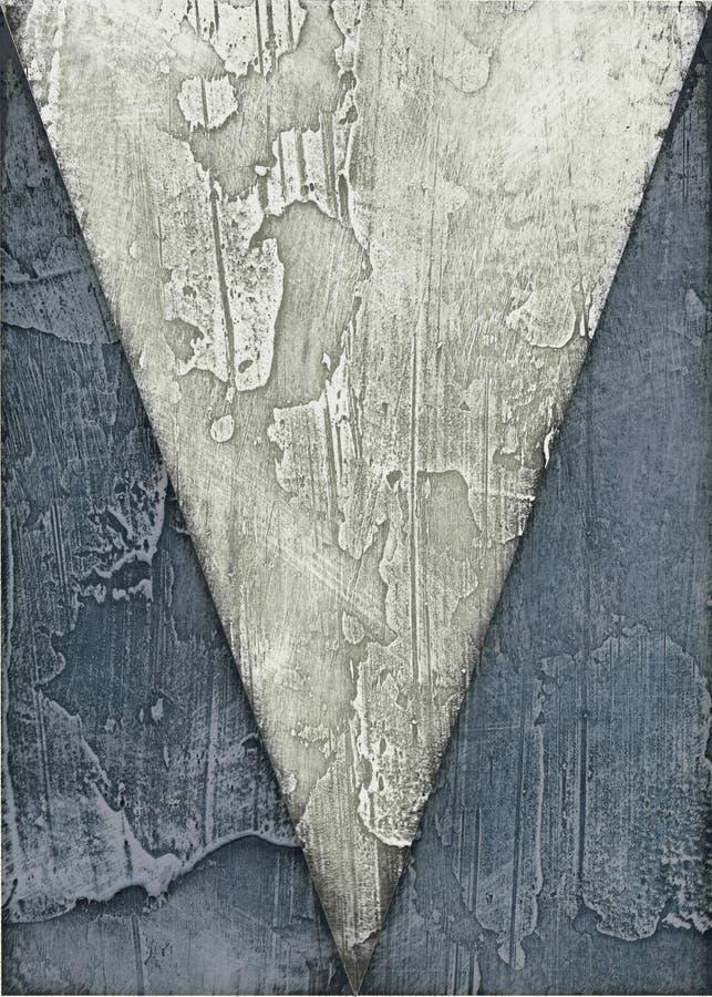 abstrakcjonistyczny obraz royalty ilustracja