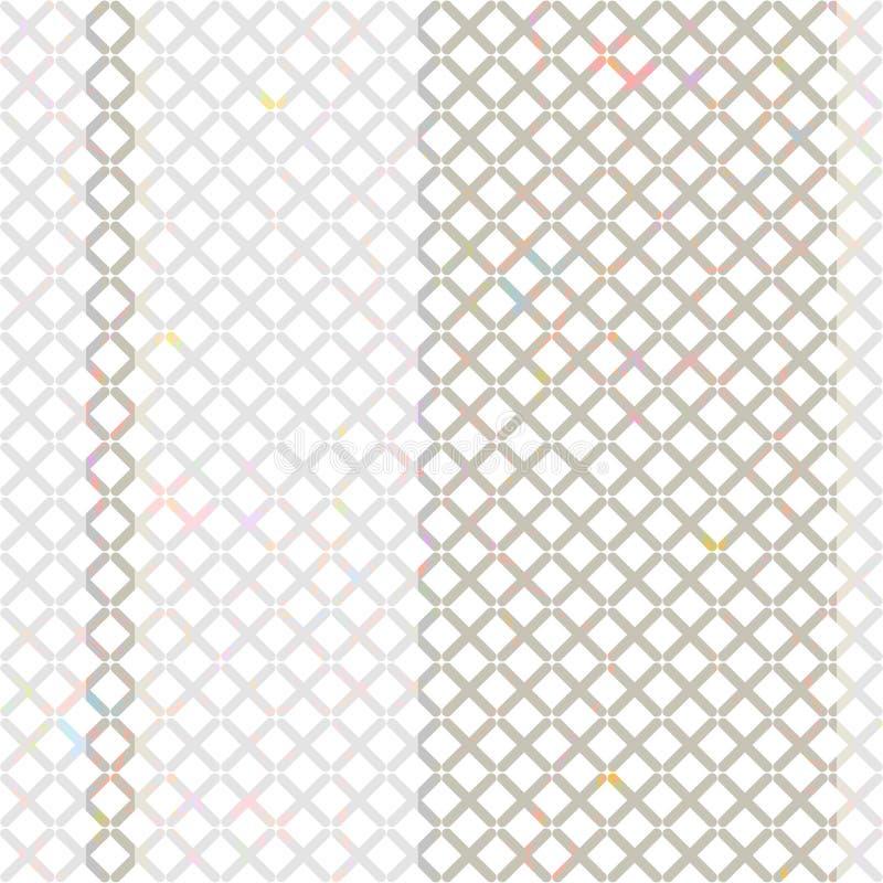 Abstrakcjonistyczny obraz, tło tekstury bezszwowe royalty ilustracja