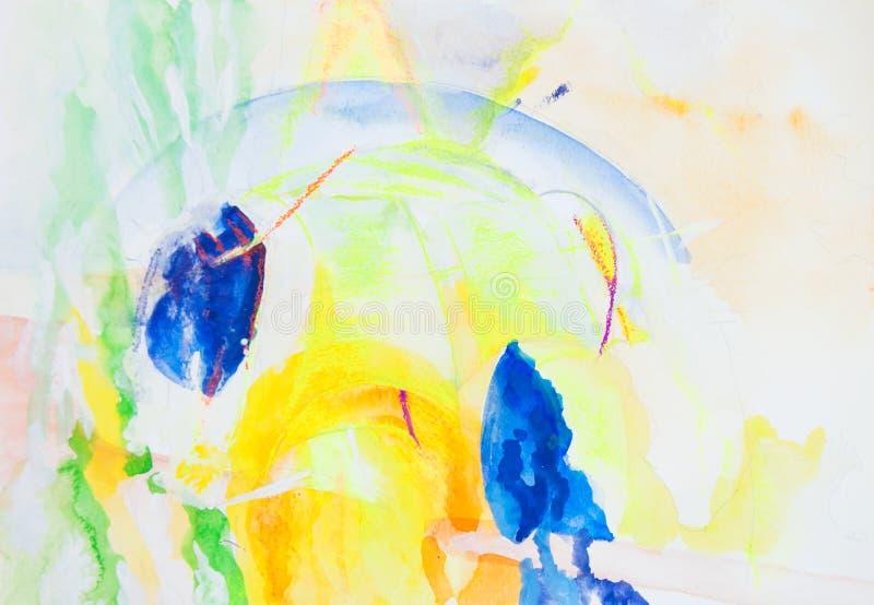 Abstrakcjonistyczny obrazek ilustracji