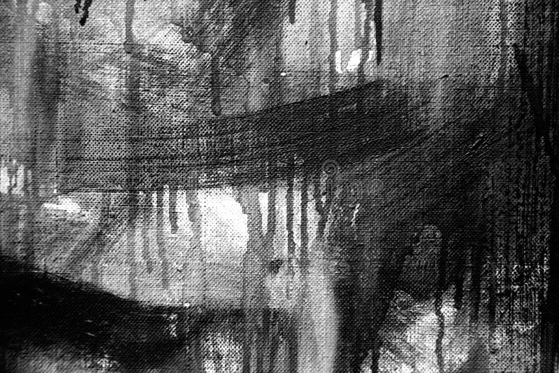 Abstrakcjonistyczny obrazu szczegółu tekstury tło z brushstrokes obrazy stock