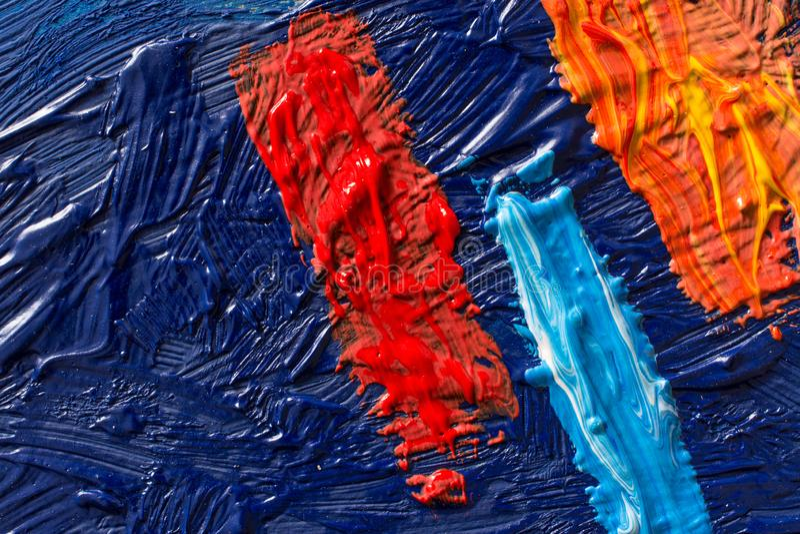 Abstrakcjonistyczny obrazu t?o Tapeta dla malarz farby lub wystawy fabryki fotografia royalty free
