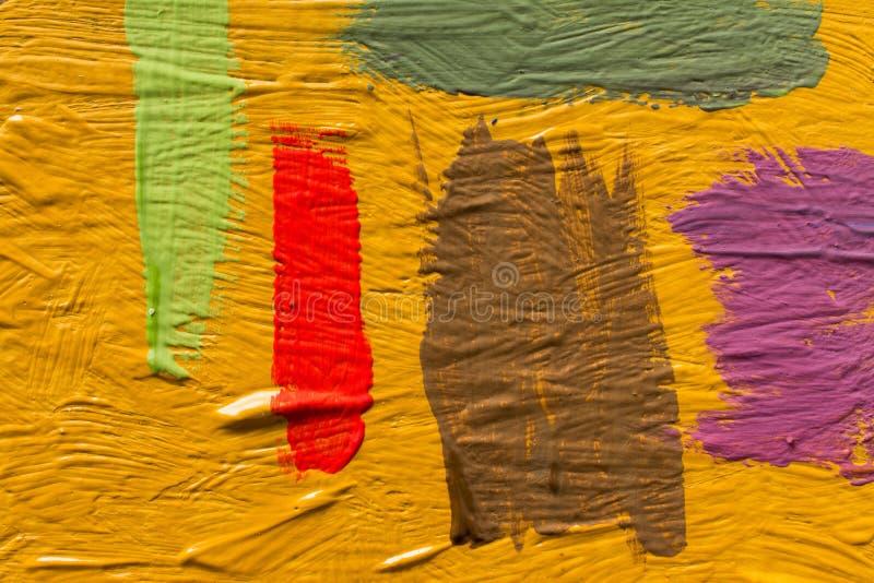 Abstrakcjonistyczny obrazu t?o Tapeta dla malarz farby lub wystawy fabryki x obraz royalty free