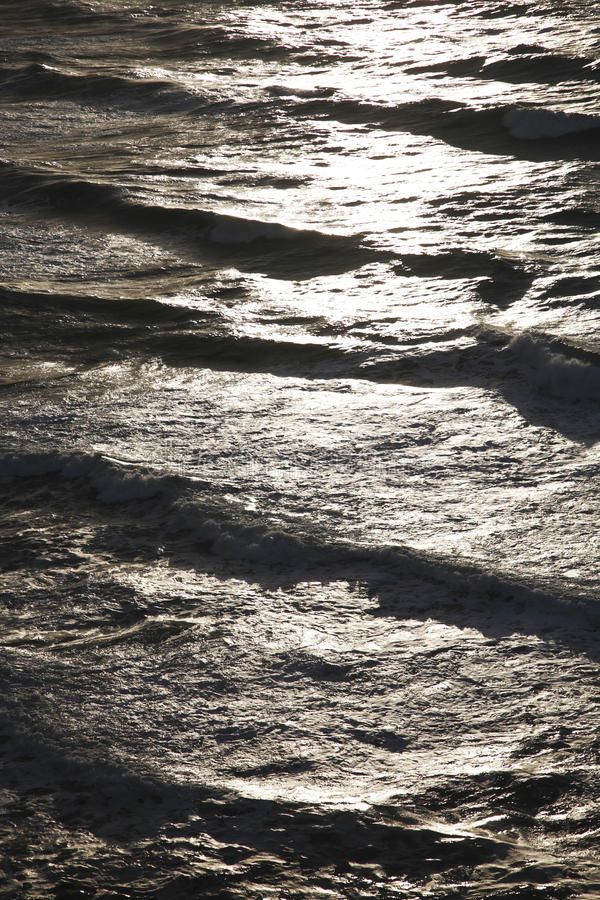 abstrakcjonistyczny ocean fotografia stock