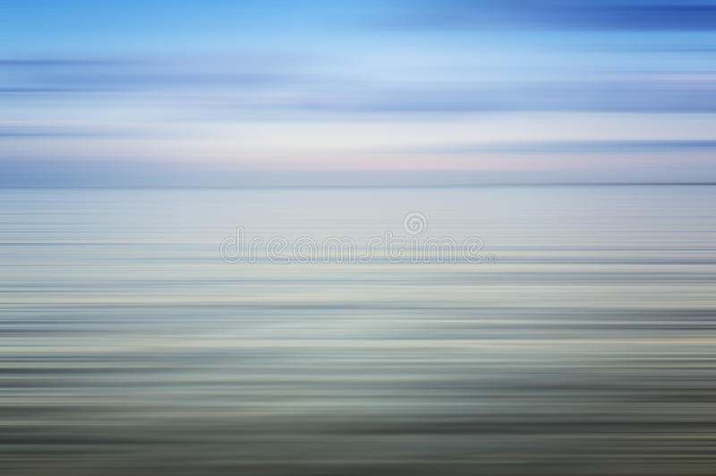 Abstrakcjonistyczny oceanu seascape fotografia stock