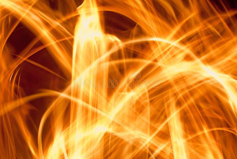 abstrakcjonistyczny ogień zdjęcia royalty free
