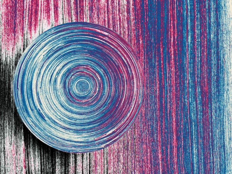 Abstrakcjonistyczny okrąg życie obrazy stock
