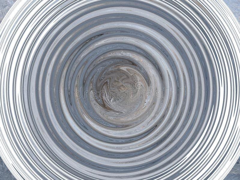 Abstrakcjonistyczny okrąg w postaci fala obraz stock