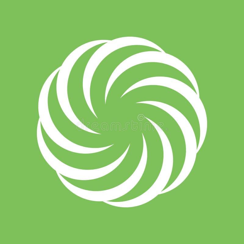 Abstrakcjonistyczny okręgu kształta symbol ilustracji