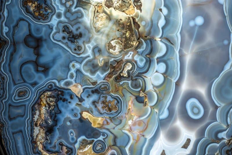 Abstrakcjonistyczny onyks - kopalna tekstura zdjęcia stock