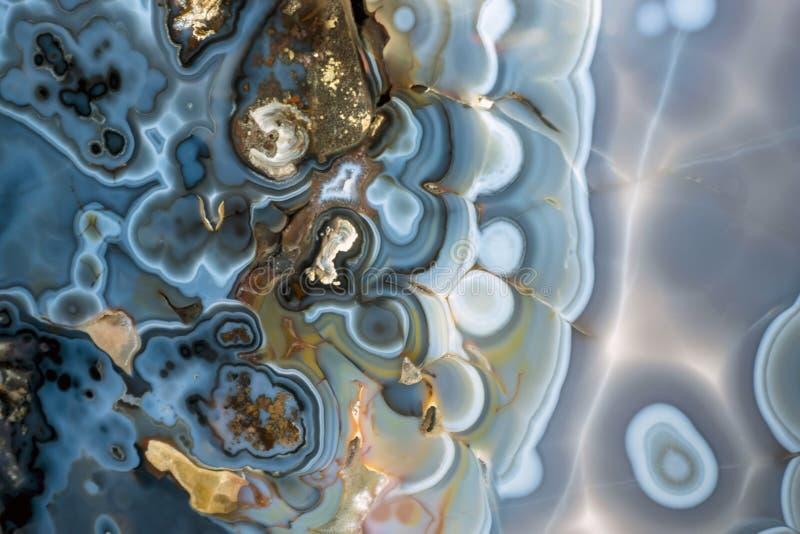 Abstrakcjonistyczny onyks - kopalna tekstura obraz stock