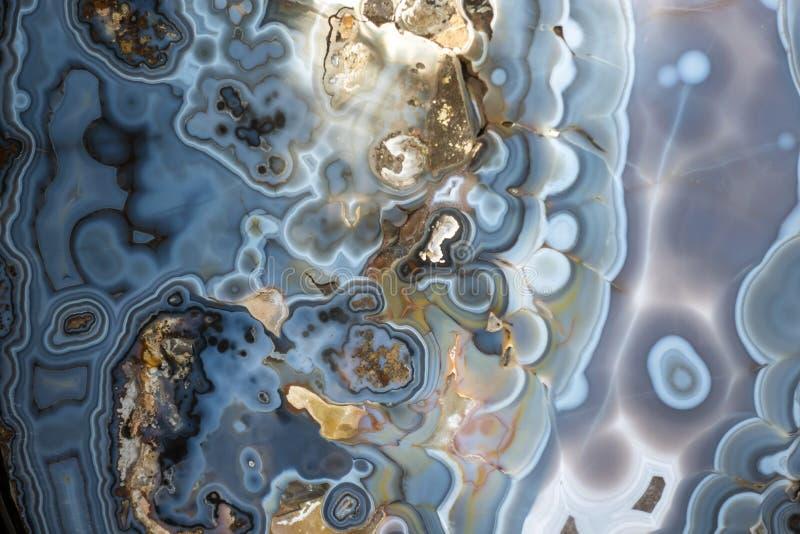 Abstrakcjonistyczny onyks - kopalna tekstura obrazy stock