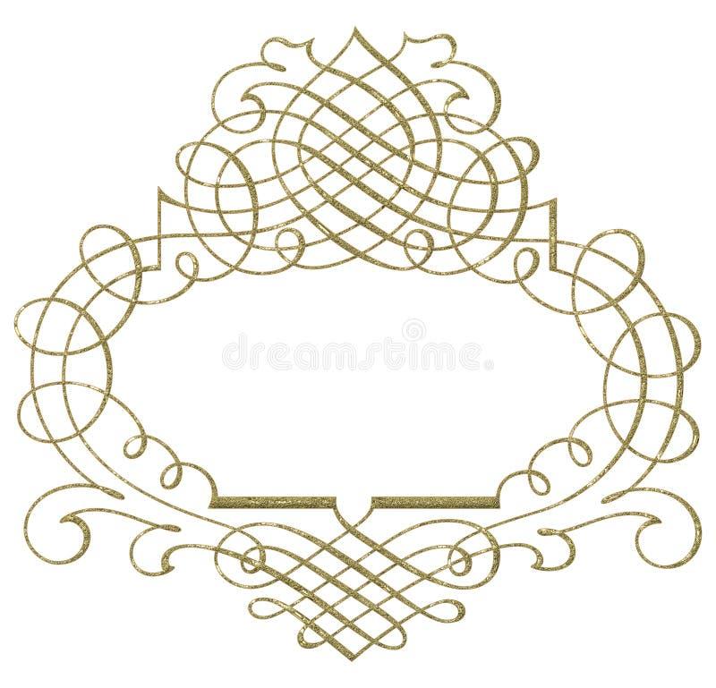 abstrakcjonistyczny ornament ilustracji