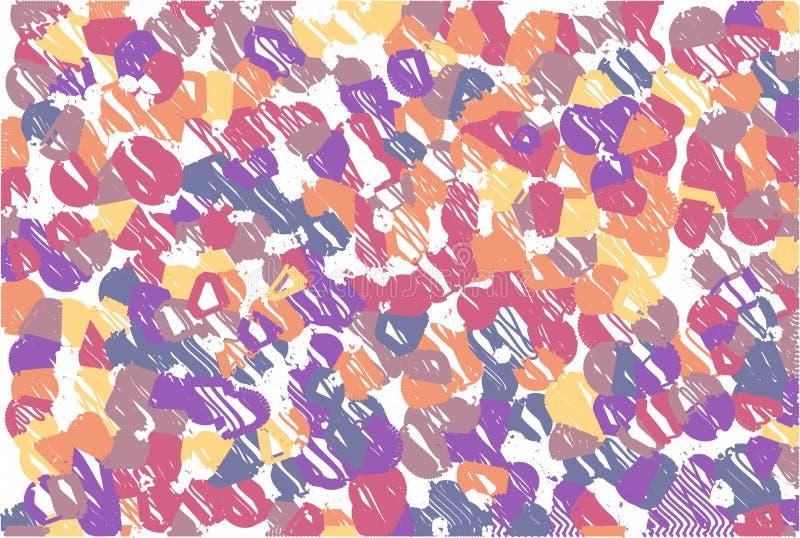 Abstrakcjonistyczny pastelowy miękki kolorowy gładzi zamazanego textured tło z ostrości tonującej w menchiach i lilym kolorze Moż fotografia royalty free