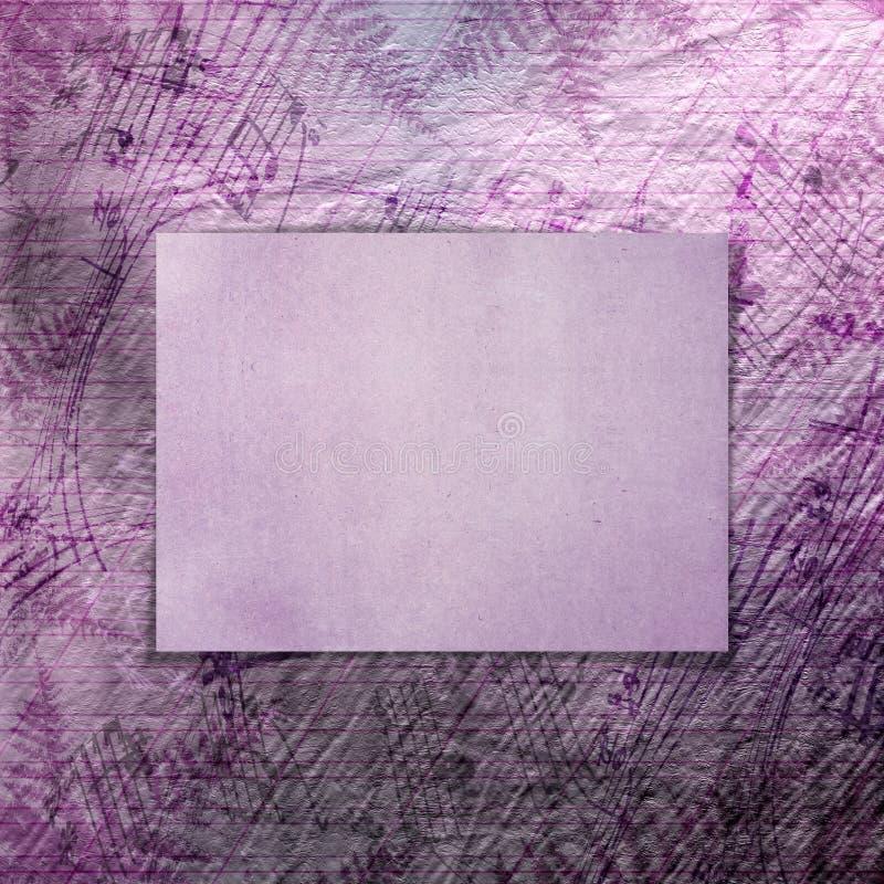 Abstrakcjonistyczny piękny tło w stylu mieszanych środków zdjęcie royalty free