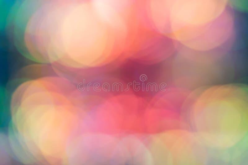 Abstrakcjonistyczny plama cekinu sukni koloru bokeh światło zdjęcia stock