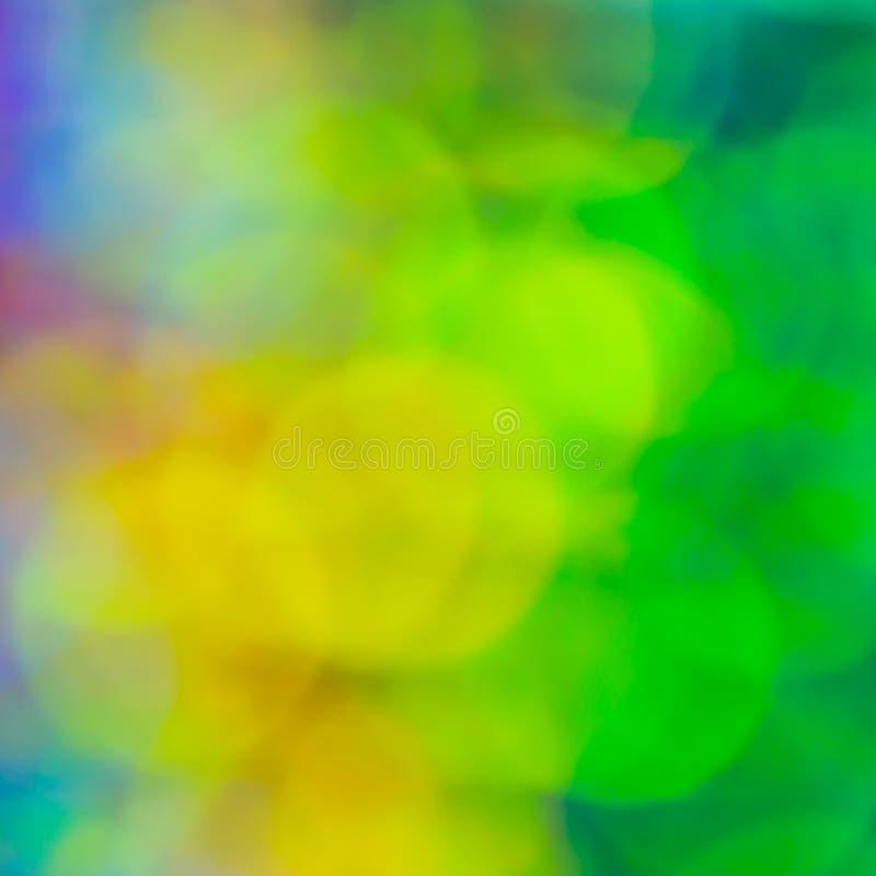Abstrakcjonistyczny plama cekinu sukni koloru bokeh światło obrazy stock