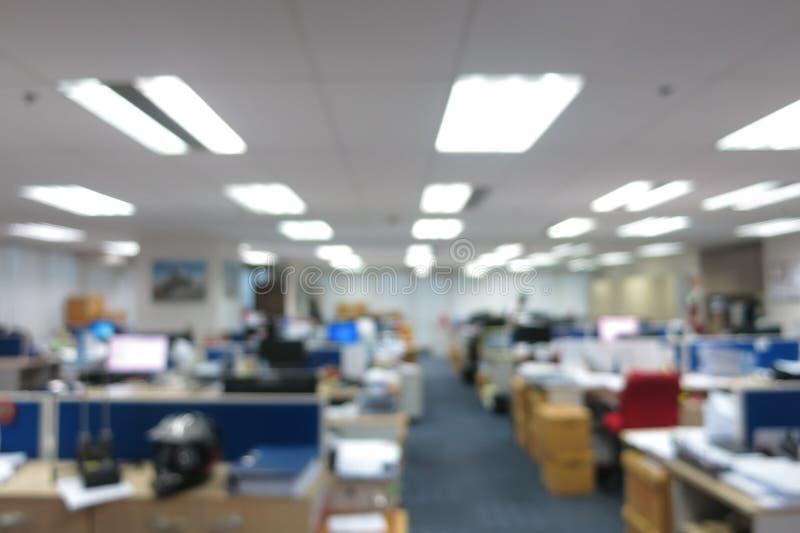 Abstrakcjonistyczny plamy biura tło obraz stock
