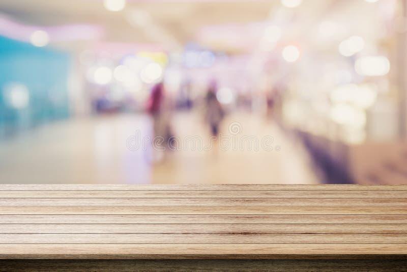 Abstrakcjonistyczny plamy bokeh światło w wydziałowego sklepu tła kolorowym pojęciu zdjęcie stock