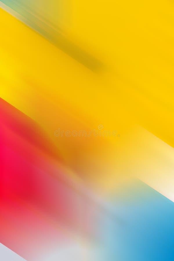 Abstrakcjonistyczny początkowych colours tło od programa filtra skutka obrazy stock